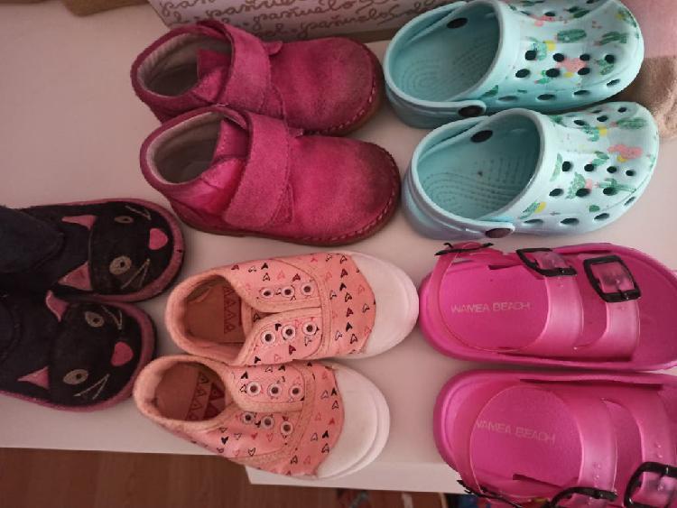 Lote zapatos niña 23