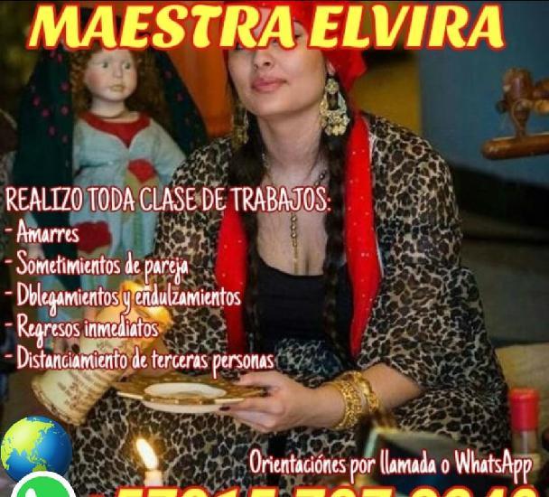 Maestra elvira +573157273240realizo toda clase de trabajos