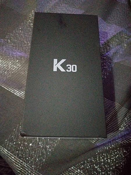 Nuevo lg k30