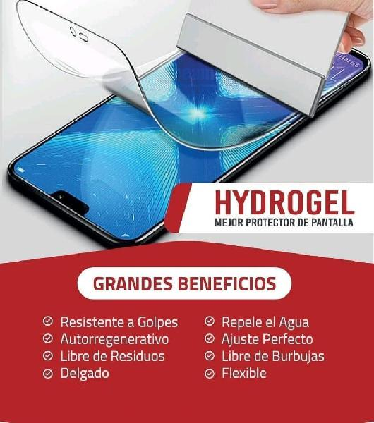 Protectores de pantalla de hidrogel para tu movil