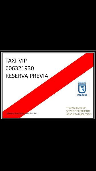 Reserva taxi oficial