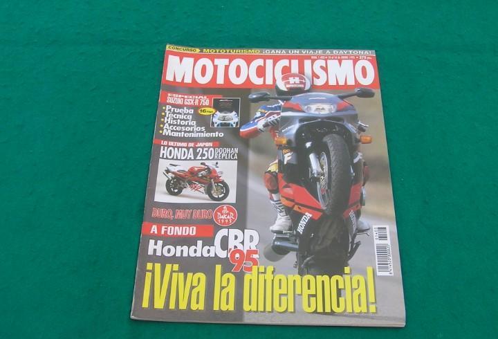 Revista motociclismo. nº 1403. 10-16 enero 1995. suzuki