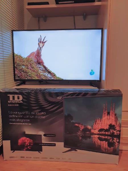 Televisor led 40 pulgadas 1080p full hd