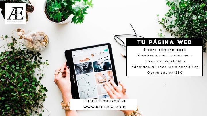 Tienda online página web
