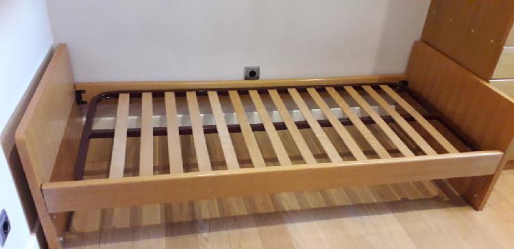 Vendo cama mueble nido 80x180