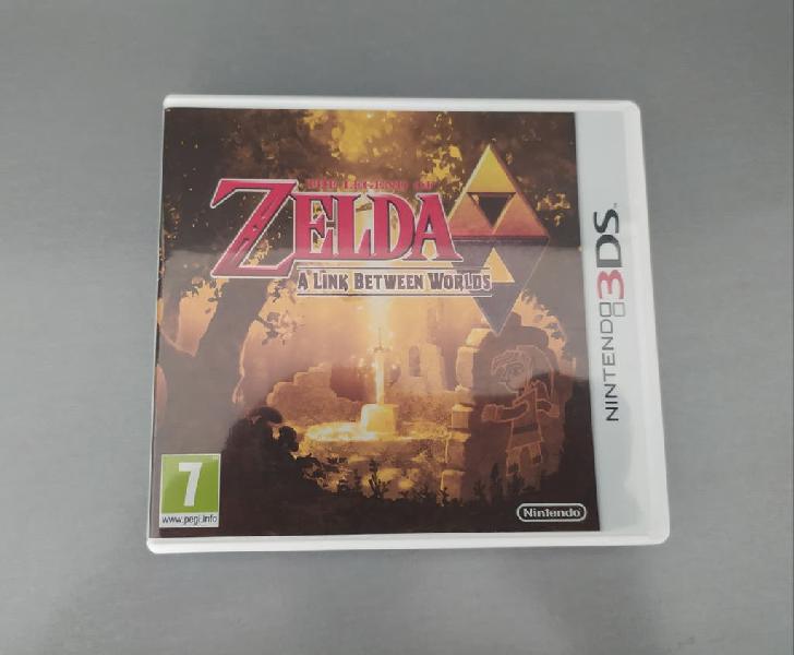 Zelda a link between worlds 3ds y 2ds