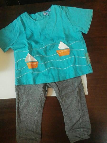 Conjunto camiseta + pantalón