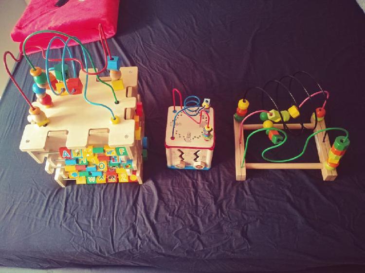 Lote laberintos juguetes bebé niñ@s