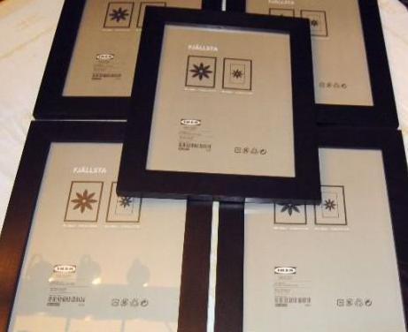 5 marcos 30 x 40 cm (10 c/u.)