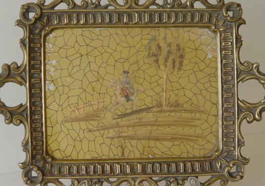 Bandeja bronce diseño