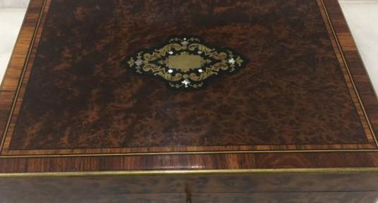 Caja juegos napoleón siglo xix