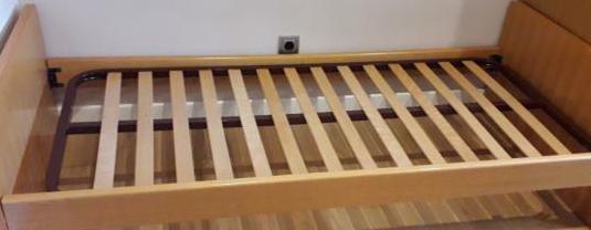 Cama mueble nido 80x180 con colchón