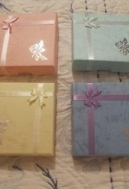 Cajas decoradas para pulseras ideal regalo