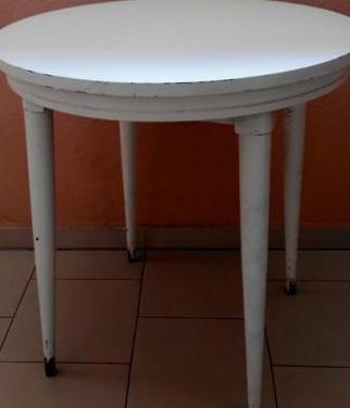Mesa madera blanca segunda mano madrid