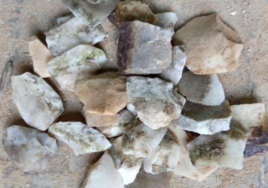 Piedras trillo originales de pedernal