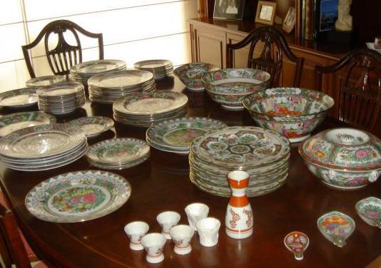 Vajilla de porcelana china 72 piezas