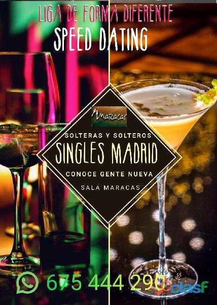EVENTOS SINGLES EN MADRID   SALA MARACAS