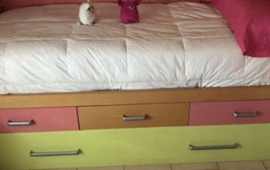 Habitación juvenil cama nido