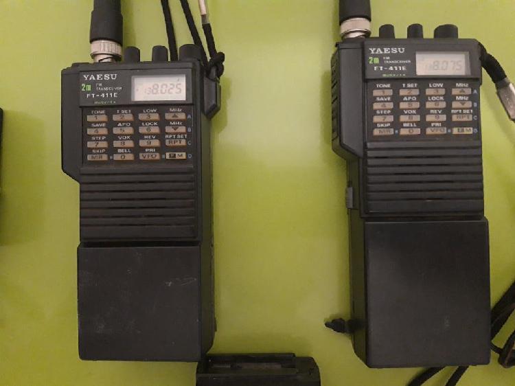 2 walkie-talkie yaesu ft 411 e