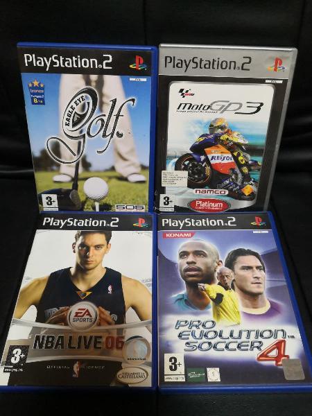 4 juegos de playstation 2 por 10€