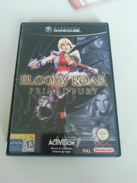 Bloody roar - primal fury para gamecube