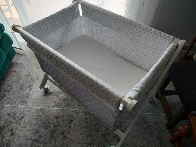 Mini cuna/moises bebe 80x50cm