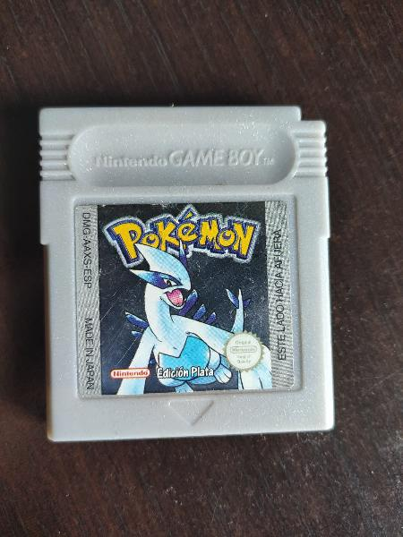 Pokemon plata gameboy color original