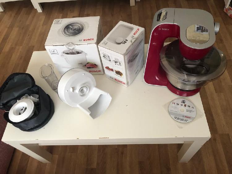 Robot cocina bosch mum, picadora de carne+heladera