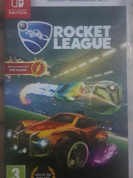Roket league edicion coleccionista nintendo switch