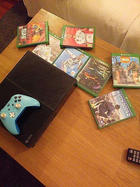 Xbox one negra 500gb