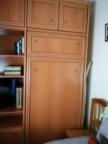 Mueble con cama abatible para salón o cuarto de es