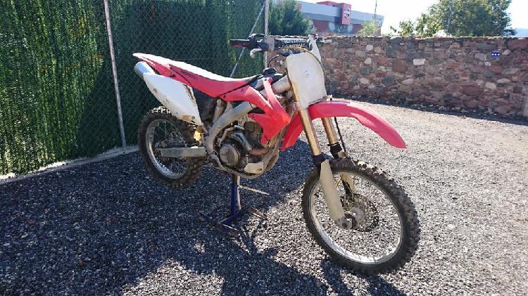 Vendo 2 crf 450 enduro (matriculada) - moto cros