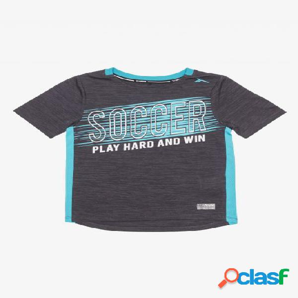 Camiseta futbol tenth play-hard junior