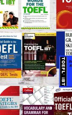 10 libros toefl examen inglés