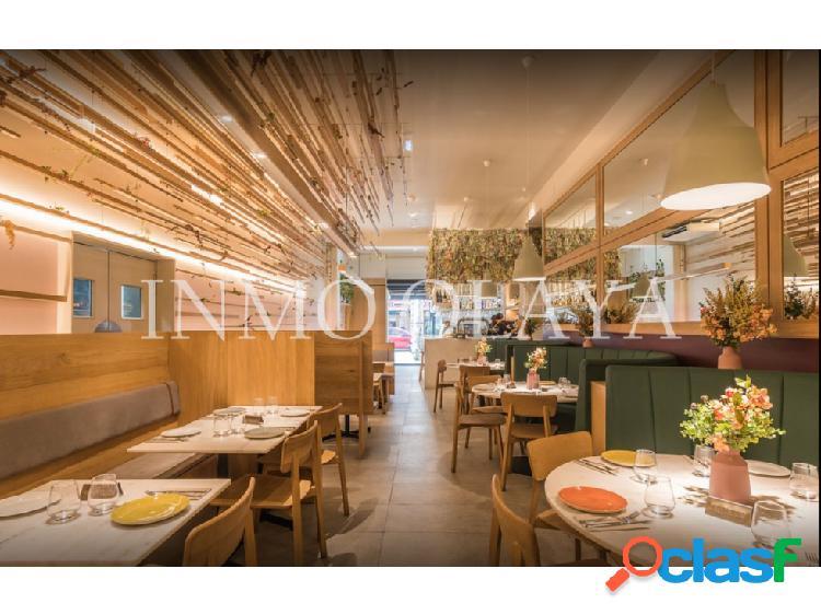 Traspaso restaurante c3 mixto en plaza tetuan