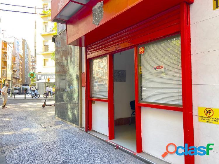 Local comercial a pie de calle zona sagasta-goya