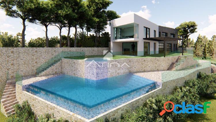 Proyecto de villa de lujo en La Corona con excelentes vistas al mar. 1