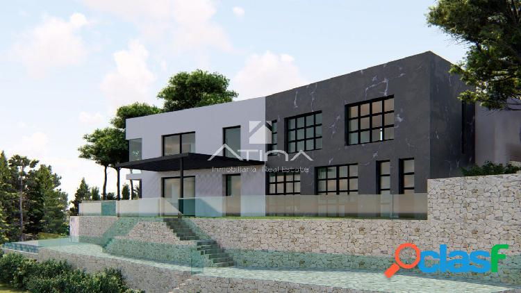 Proyecto de villa de lujo en La Corona con excelentes vistas al mar. 2