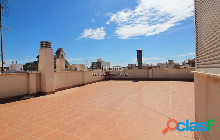 Ocasión Atico centro Alicante, 3 dormitorios, 2 baños,terraza +solarium,garaje y trastero incluido 2