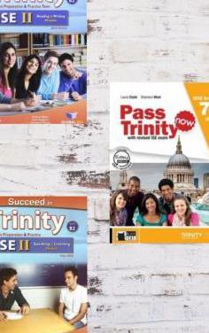 3 libros examen inglés trinity ise ii b2