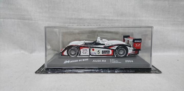 Audi r8 2004, 24 heures du mans, escala 1:43