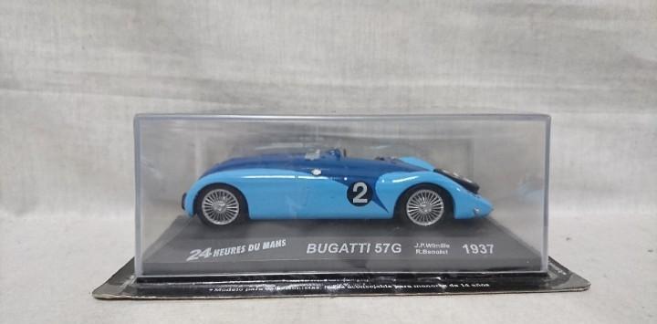 Bugatti 57g 1937, 24 heures du mans, escala 1:43