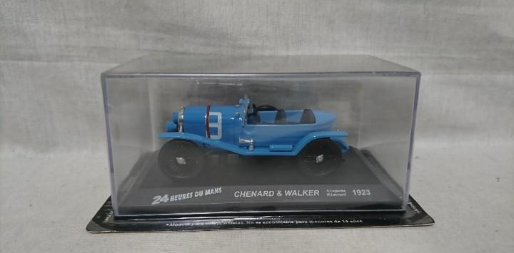 Chenard & walker 1923, 24 heures du mans, escala 1:43