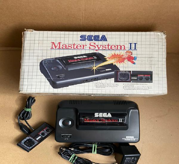 Consola sega master system ii