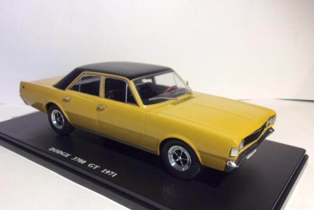 Dodge 3700 gt de 1971, escala 1/24, replica exacta,nuevo en