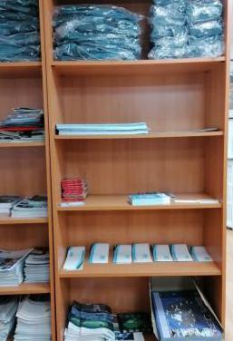 Estantería librería color haya
