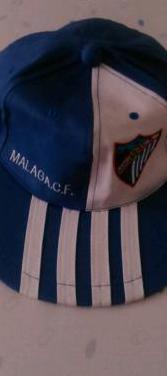 Gorra oficial del málaga c. f.