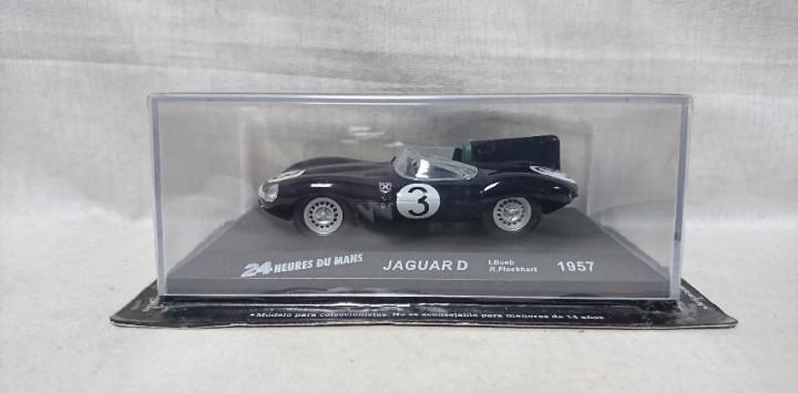 Jaguar d 1957, 24 heures du mans, escala 1:43