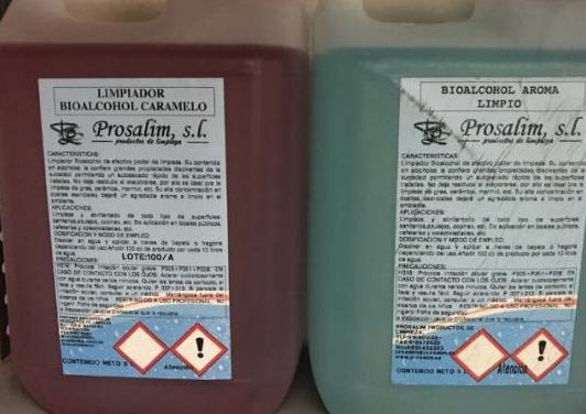 Jabón limpiador perfumado 5 litros