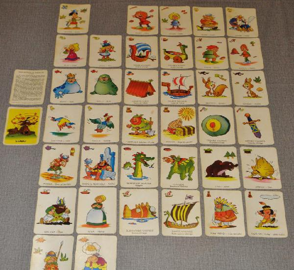 Juego de cartas baraja ediciones recreativas vikie 1975